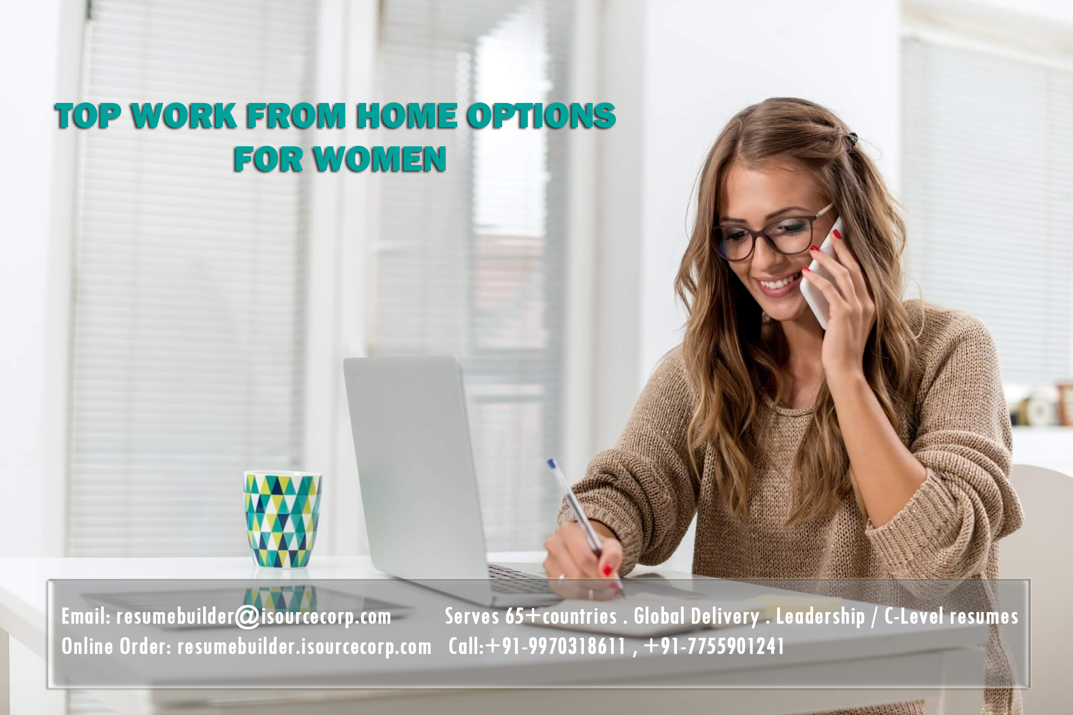 Top Work From Home options for women